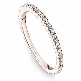 18k Rose Gold Classic Style Diamond Band STA14-1R - KLARITY LONDON