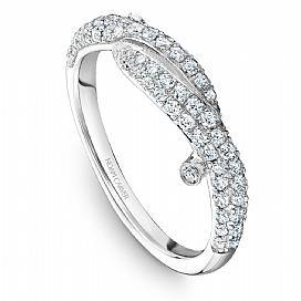 Platinum Style Diamond Band STA16-1W - KLARITY LONDON