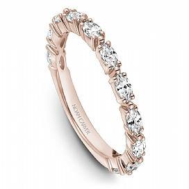 18k Rose Gold Marquise Diamond Band STA50-1RS - KLARITY LONDON