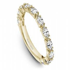 18k Yellow Gold Marquise Diamond Band STA50-1YS - KLARITY LONDON