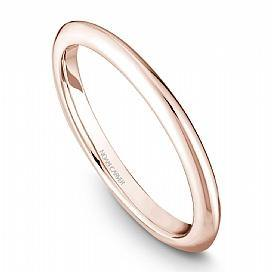 18k Rose Gold Custom Knife edge Band STE2-2RS - KLARITY LONDON