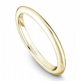 18k Yellow Gold Custom Knife edge Band STE2-2YS - KLARITY LONDON