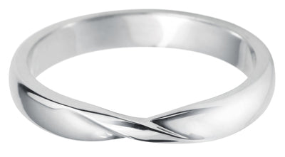 Ribbon COURT SHAPE PLAIN BAND