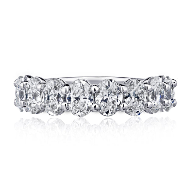 Oval Eternity Ring - KLARITY LONDON
