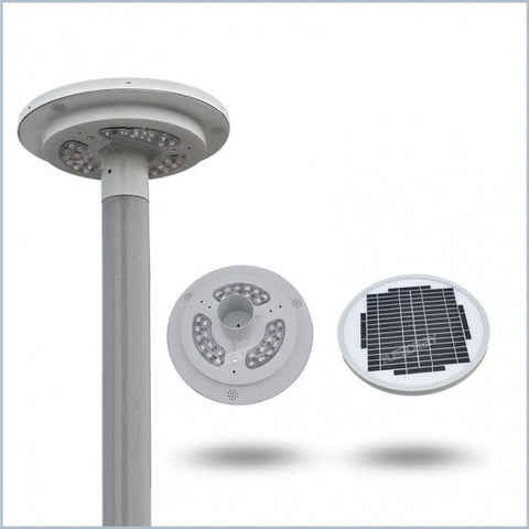 AR5311: Solar LED Garden Light 9-watts, 1,080lm