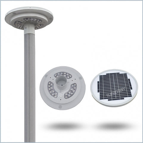 AR5312: Solar LED Garden Light 15-watts, 1,800lm