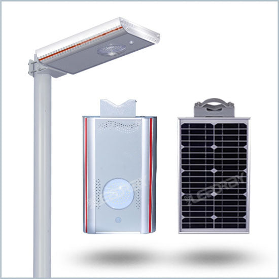Solar LED pathway light, 960 lumen