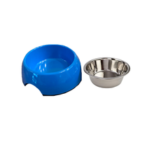 Load image into Gallery viewer, Blue Small Size Dog Bowl Pet Bowl | Cutie Ties