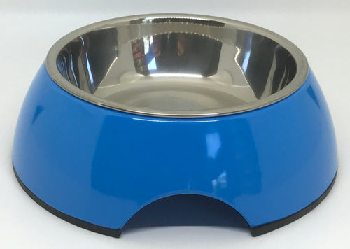 Blue Small Size Dog Bowl