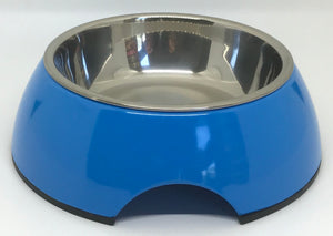 Blue Small Dog Bowl Pet Bowl | Cutie Ties