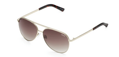 Vivienne Mini Gold Aviators