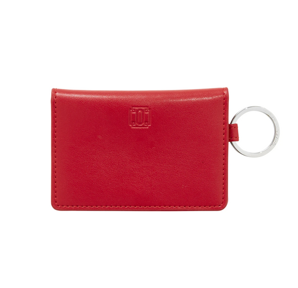 Cherry Leather ID Case