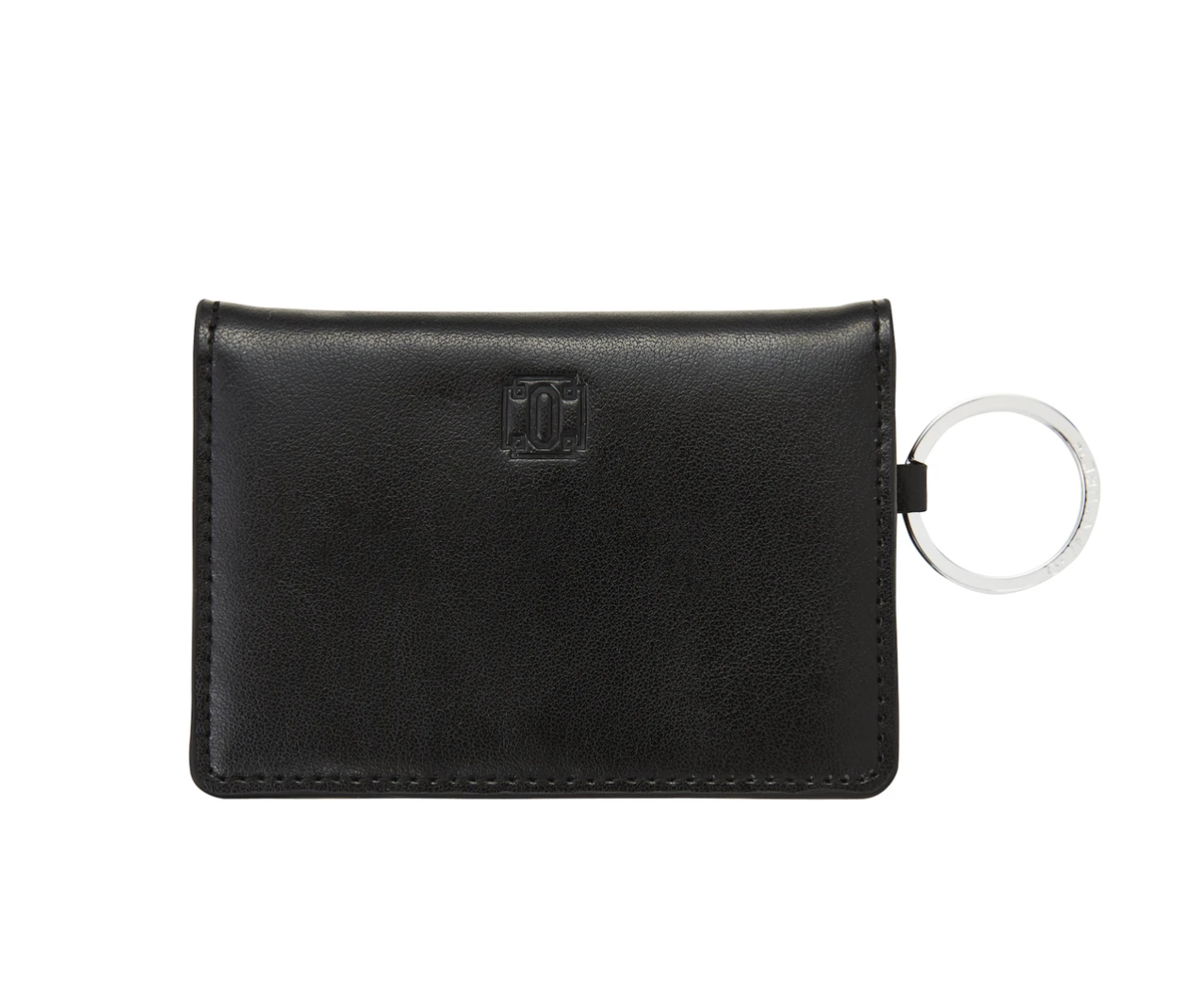 Black Leather ID Case