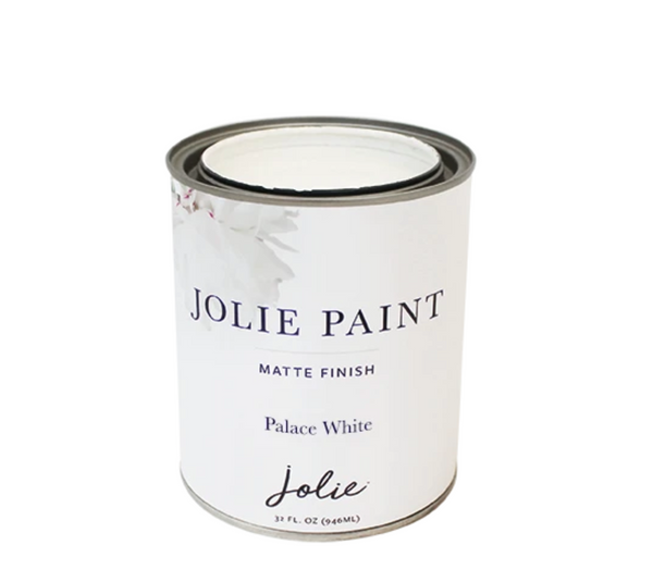 Jolie 1 qt. paint (Palace White)