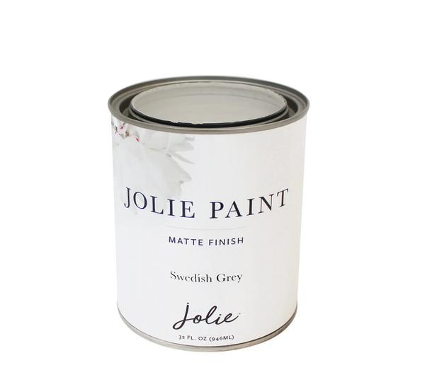 Jolie 1 qt. paint (Swedish Grey)
