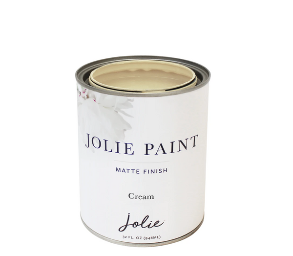 Jolie 1 qt paint (Cream)