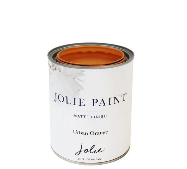 Jolie 1 qt. paint (Urban Orange)