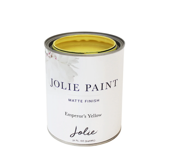 Jolie 1 qt. Paint (Emperor's Yellow)