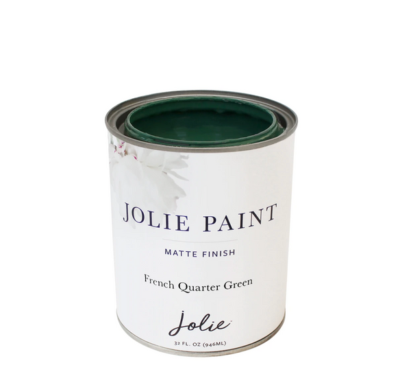 Jolie 1 qt. paint (French Quarter Green.)