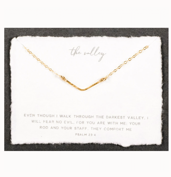 The Mini Valley Necklace (Gold)