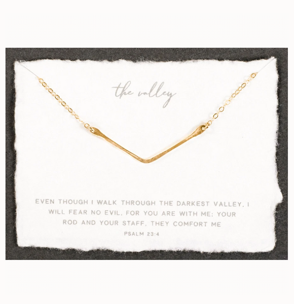 The Valley Necklace (Gold)