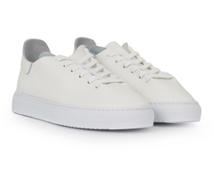 Poppy Lace-Up Sneaker - White