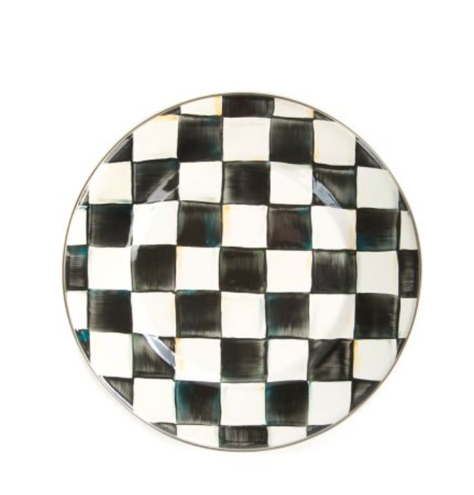 Dinner Plate - Courtly Check