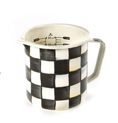 Measuring Cup - Courtly Check