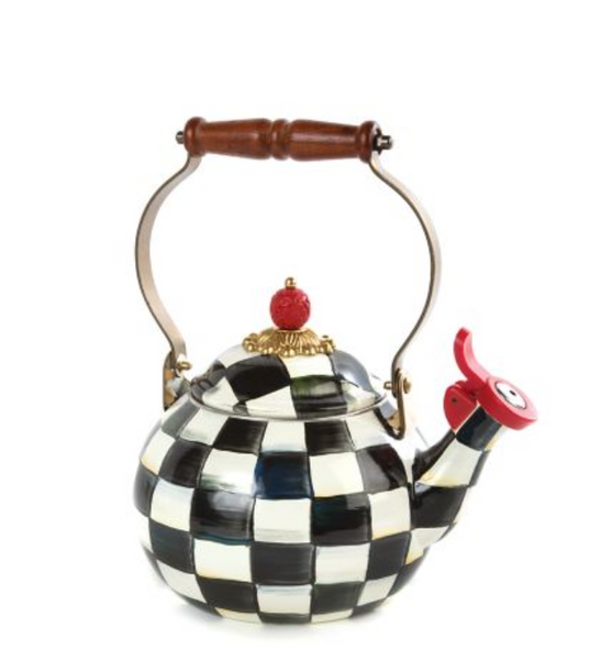 Whistling Tea Kettle - Courtly Check