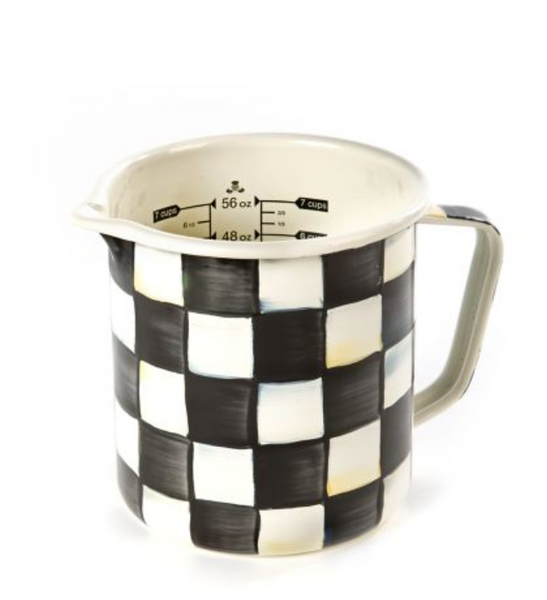 7 Measuring Cup - Royal Check