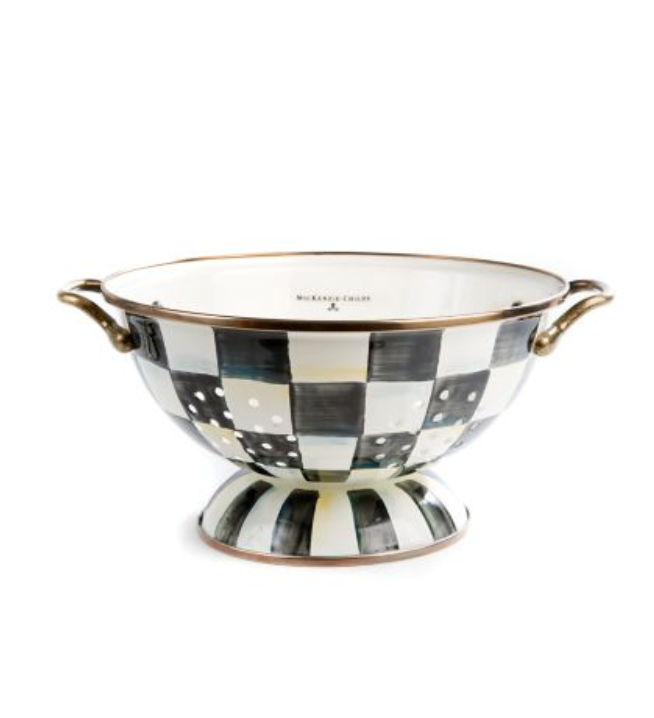 Large Colander - Courtly Check
