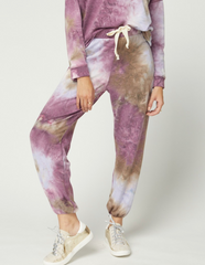 Plum Tie-Dye Bottoms