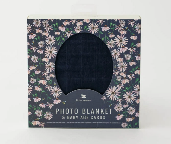 Photo Blanket - Navy