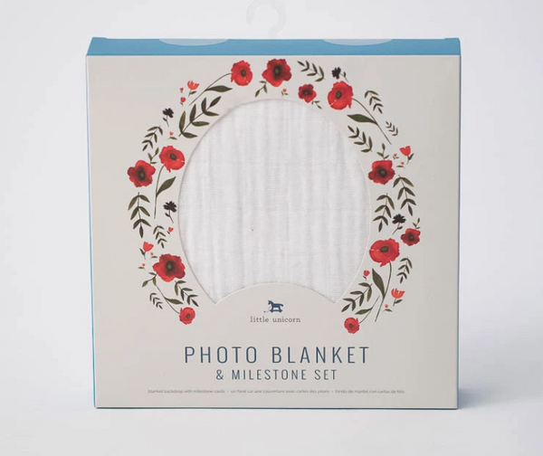 Photo Blanket - White