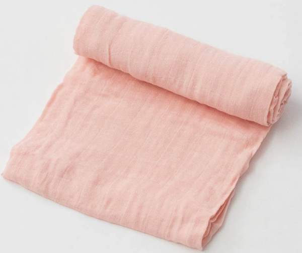 Cotton Single Swaddle - Rose