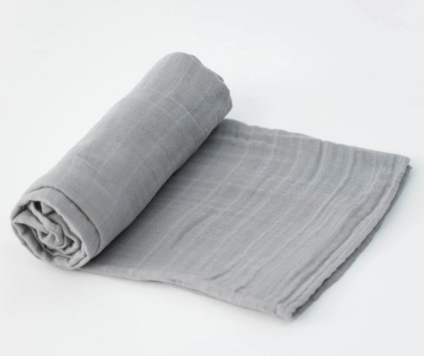 Cotton Single Swaddle - Grey
