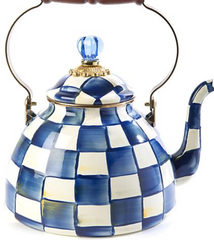 Royal Check Tea Kettle - 3 Qt.