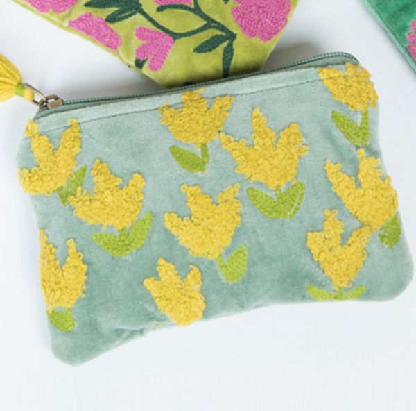 Floral Pouch - Small