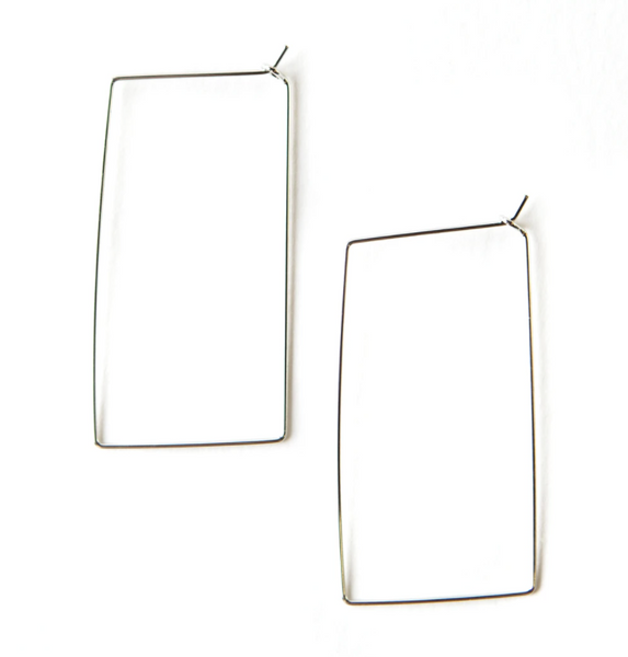 Brady Earrings - Silver