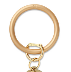 Silicone Key Ring - Gold Rush