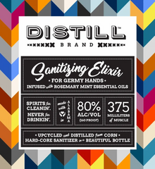 Distill Hand Sanitizing Elixir - Rosemary Mint