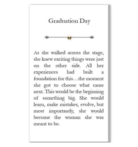 """Graduation Day"" Bead"