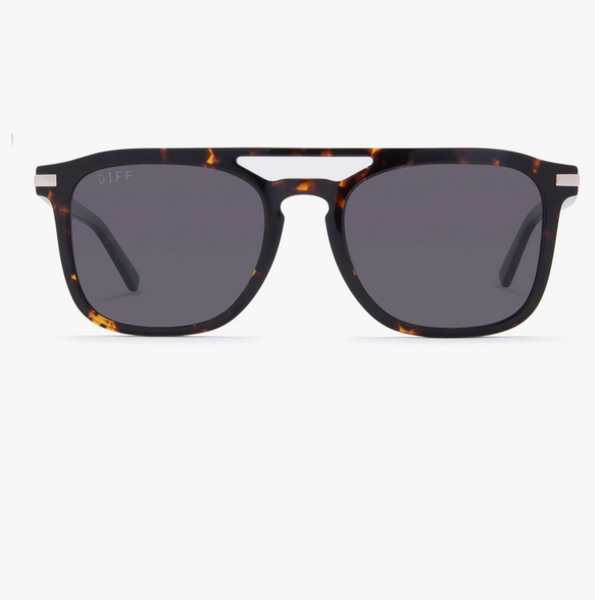 TANNER - DARK TORTOISE BROWN GRADIENT