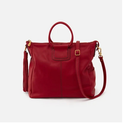 Sheila Large Purse - Scarlet