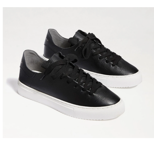 Poppy Lace-Up Sneaker - Black