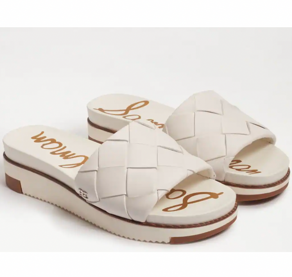 Adaley Sandal - White Leather