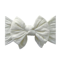 Dang Enormous Bow (Ivory Dot)