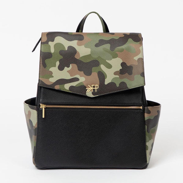 Large Camo Diaper Bag Backpack