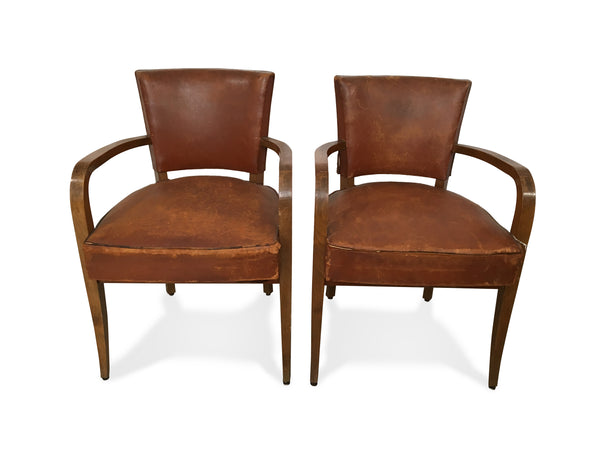 Vintage Leather Armchairs