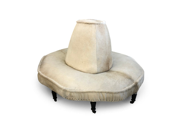 Antique Pony Hair Sofa